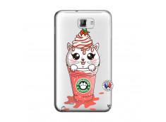Coque Samsung Galaxy Note 1 Catpucino Ice Cream