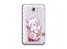 Coque Samsung Galaxy Note 1 Smoothie Cat