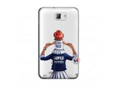 Coque Samsung Galaxy Note 1 Super Maman Et Super Bébé