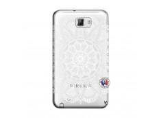 Coque Samsung Galaxy Note 1 White Mandala