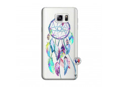 Coque Samsung Galaxy Note 3 Lite Blue Painted Dreamcatcher