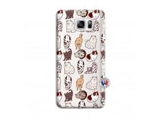 Coque Samsung Galaxy Note 3 Lite Cat Pattern