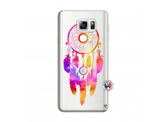 Coque Samsung Galaxy Note 3 Lite Dreamcatcher Rainbow Feathers