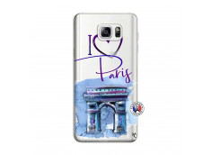 Coque Samsung Galaxy Note 3 Lite I Love Paris Arc Triomphe