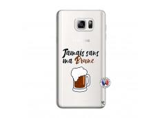 Coque Samsung Galaxy Note 3 Lite Jamais Sans Ma Brune