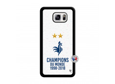 Coque Samsung Galaxy Note 3 Lite Champion Du Monde Noir