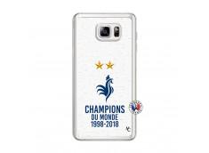 Coque Samsung Galaxy Note 3 Lite Champion Du Monde Translu
