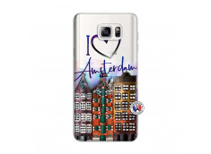Coque Samsung Galaxy Note 3 Lite I Love Amsterdam