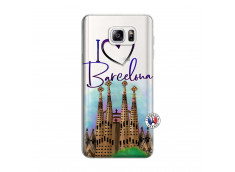 Coque Samsung Galaxy Note 3 Lite I Love Barcelona