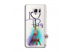 Coque Samsung Galaxy Note 3 Lite I Love Paris