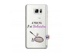 Coque Samsung Galaxy Note 3 Lite Je Peux Pas J Ai Badminton