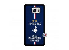 Coque Samsung Galaxy Note 3 Lite Je Peux Pas On Est Les Champions Du Monde Noir