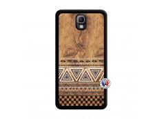 Coque Samsung Galaxy Note 3 Aztec Deco Noir