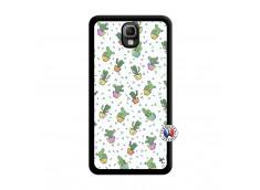 Coque Samsung Galaxy Note 3 Le Monde Entier est un Cactus Noir