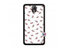 Coque Samsung Galaxy Note 3 Cartoon Heart Noir