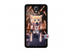 Coque Samsung Galaxy Note 3 Cat Nasa Noir
