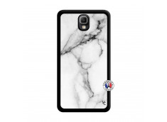 Coque Samsung Galaxy Note 3 White Marble Noir