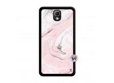 Coque Samsung Galaxy Note 3 Marbre Rose Noir