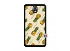 Coque Samsung Galaxy Note 3 Sorbet Ananas Noir