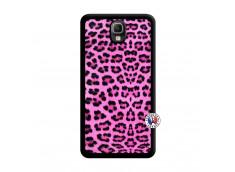 Coque Samsung Galaxy Note 3 Pink Leopard Noir