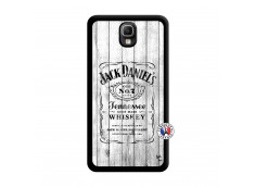Coque Samsung Galaxy Note 3 White Old Jack Noir