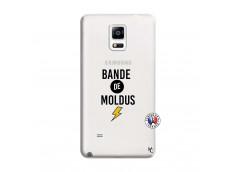 Coque Samsung Galaxy Note 4 Bandes De Moldus