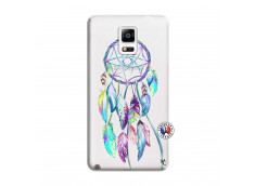 Coque Samsung Galaxy Note 4 Blue Painted Dreamcatcher