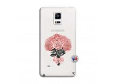 Coque Samsung Galaxy Note 4 Bouquet de Roses