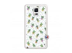Coque Samsung Galaxy Note 4 Le Monde Entier est un Cactus Translu