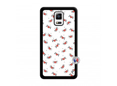 Coque Samsung Galaxy Note 4 Cartoon Heart Noir