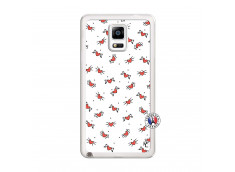 Coque Samsung Galaxy Note 4 Cartoon Heart Translu