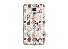 Coque Samsung Galaxy Note 4 Cat Pattern