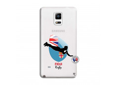 Coque Samsung Galaxy Note 4 Coupe du Monde Rugby Fidji