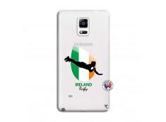 Coque Samsung Galaxy Note 4 Coupe du Monde Rugby-Ireland