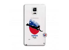Coque Samsung Galaxy Note 4 Coupe du Monde Rugby-Samoa