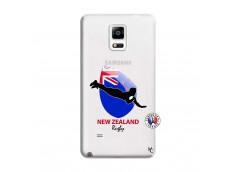 Coque Samsung Galaxy Note 4 Coupe du Monde Rugby- Nouvelle Zélande