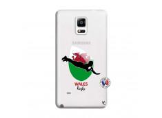 Coque Samsung Galaxy Note 4 Coupe du Monde Rugby-Walles