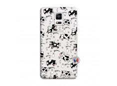 Coque Samsung Galaxy Note 4 Cow Pattern