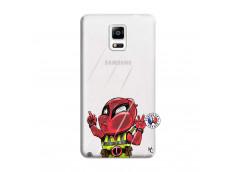Coque Samsung Galaxy Note 4 Dead Gilet Jaune Impact