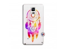 Coque Samsung Galaxy Note 4 Dreamcatcher Rainbow Feathers