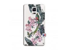 Coque Samsung Galaxy Note 4 Flower Birds
