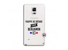 Coque Samsung Galaxy Note 4 Frappe De Batard Comme Benjamin
