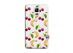 Coque Samsung Galaxy Note 4 Hey Cherry, j'ai la Banane