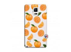 Coque Samsung Galaxy Note 4 Orange Gina