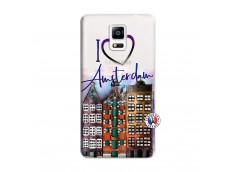 Coque Samsung Galaxy Note 4 I Love Amsterdam