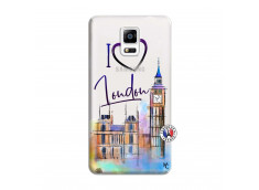 Coque Samsung Galaxy Note 4 I Love London