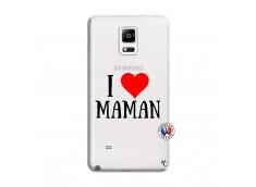 Coque Samsung Galaxy Note 4 I Love Maman