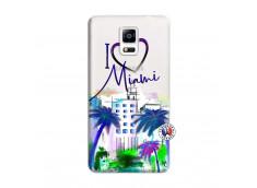 Coque Samsung Galaxy Note 4 I Love Miami