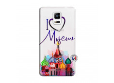 Coque Samsung Galaxy Note 4 I Love Moscow