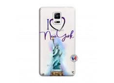 Coque Samsung Galaxy Note 4 I Love New York